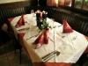 Restaurant gedeckter Tisch